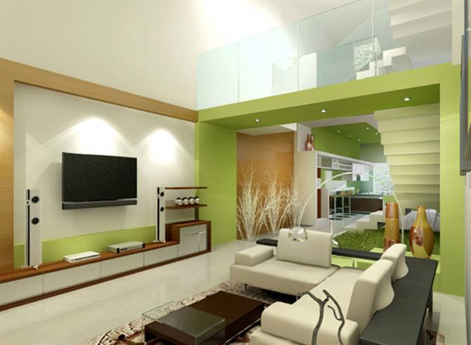 Phòng khách bắt mắt khi kết hợp với những món đồ nội thất đa năng