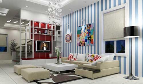 Những chiếc tủ góp phần làm phòng khách nhà bạn trở nên màu sắc, đa năng hơn